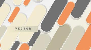 capsule vormen abstracte achtergrond vector