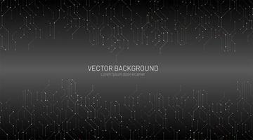 moderne abstracte technische achtergrond vector
