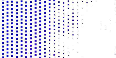 lichtroze, blauwe vectorachtergrond met rechthoeken. vector