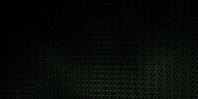 donkergroene vectorlay-out met lijnen. vector