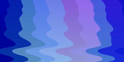 lichtroze, blauwe vectorlay-out met wrange lijnen. vector