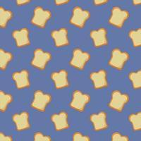 ontbijt koken patroon achtergrond vector