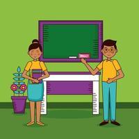gelukkig lerarendagvieringsontwerp
