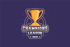 Champion Illustratie vector