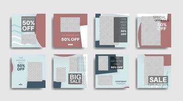 geometrische vorm bannermalplaatje dat kan worden bewerkt voor posts op sociale media. vector ontwerp