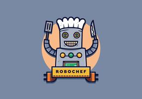 ai chef-kok vector