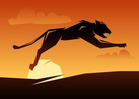 Unieke Black Panther-vectoren