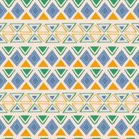 naadloze geometrische patroon. etnische en tribale motieven. hand getrokken textuur ornamenten. vectorillustratie klaar voor textieldruk. vector