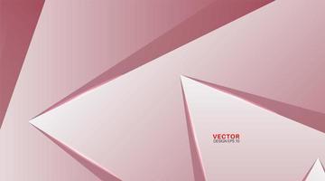 vector achtergrond van abstracte geometrische vormen.