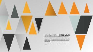 abstracte vector achtergrond. textuur driehoeksvorm