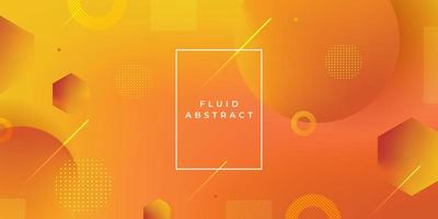 achtergrond met kleurovergang geometrische vorm. dynamische cirkel abstracte moderne stijl. vector