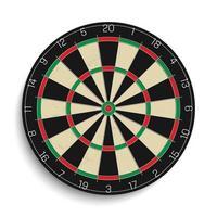 realistische dartbord