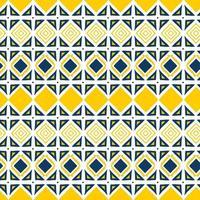 driehoek geometrische naadloze patroon. hand getekend tribal ornament.