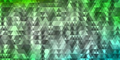 lichtgroene en blauwe textuur met lijnen, driehoeken