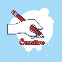 creatieve belettering met handschrift