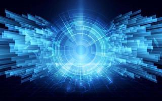 snelheid cyber tunnel verbinding netwerken concept ontwerp achtergrond vector