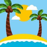 Braziliaanse carnavalviering met strandzeegezicht