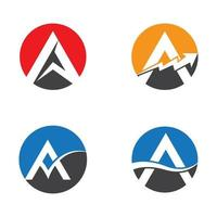 letter a logo afbeeldingen