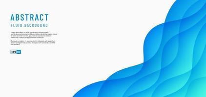 abstracte groen en blauw papier gesneden laag achtergrond met tekst ruimte of kopieer ruimte. moderne stijl voor poster, omslag, print, illustraties, bannerweb. vector illustratie