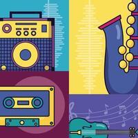 muziekfestival poster vector