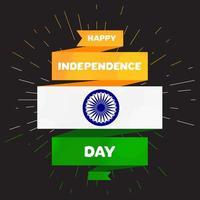 Gelukkige Onafhankelijkheidsdag vector