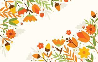 kleurrijke bloem lente achtergrond vector