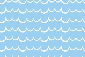 vector textuur achtergrond, naadloze patroon. hand getrokken, blauwe, witte kleuren.