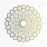 decoratieve bloemenmandala op witte achtergrond