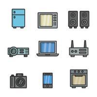 elektronica pictogramserie