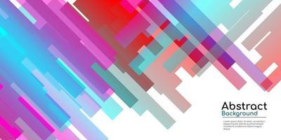 abstracte decoratieve achtergrond met kleurrijk verloop vector