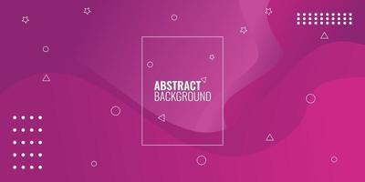 moderne abstracte rode gradiënt geometrische golvend vector