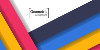 moderne abstracte geometrische rechthoek kleurrijke achtergrond