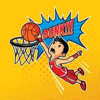 Slam Dunk Illustratie