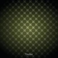 sier vectorpatroon, arabesque en bloemen gouden elementen. vector