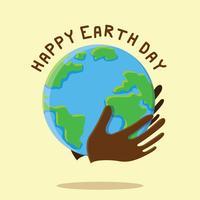 Aarde dag illustratie vector