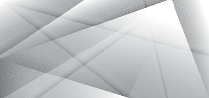 abstracte moderne ontwerp witte en grijze geometrische achtergrond. vector