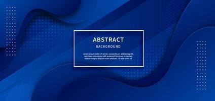 abstracte geometrische achtergrond. vloeibare vorm. minimaal patroon. blauwe gradiëntkleuren ontwerpen achtergrond. vector