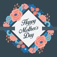 gelukkige moederdagkaart