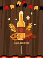Oktoberfest bierviering banner