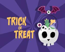 halloween trick or treat-feestbanner