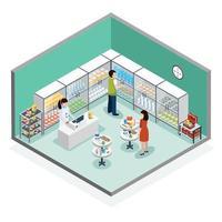 farmaceutische productie isometrische samenstelling