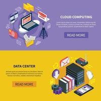 clouddiensten isometrisch