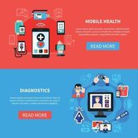 digitale gezondheid vectorillustratie