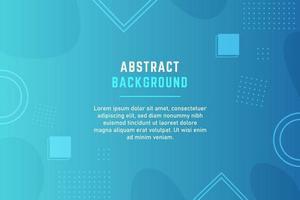 stijlvolle lichtblauwe achtergrond met kleurovergang met geometrische vormen