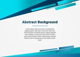 achtergrond met kleurovergang blauwe geometrische presentatie