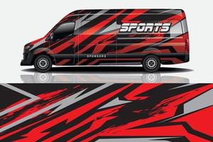 auto wrap grafische race abstracte achtergrond voor wrap en vinyl sticker vector