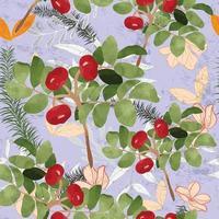 zomer tropische groene bladeren naadloos vector