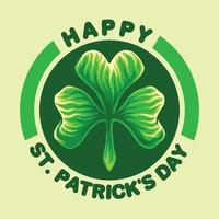 happy st patricks day embleem