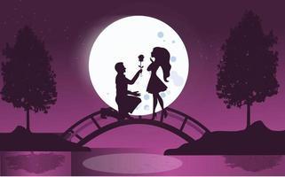Valentijnsdag achtergrond concept