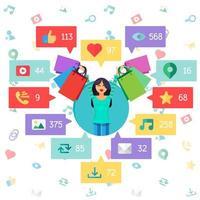 web virtueel sociaal netwerk